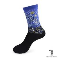 Носки Звёздная ночь (картина Винсента Ван Гога)