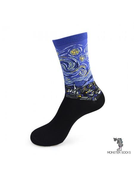Шкарпетки Зоряна ніч (картина Вінсента Ван Гога)