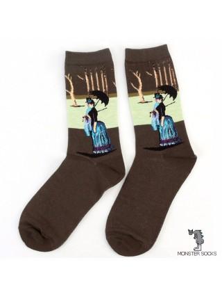 Шкарпетки Недільний день на острові Гранд-Жатт (Жорж Сера)