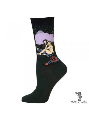 Шкарпетки з картиною Сніданок на траві (Едуард Мане)