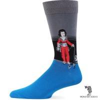 Шкарпетки з картиною Хлопчик в червоному (Франсиско Гойя)