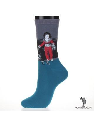 Носки с картиной Мальчик в красном (Франсиско Гойя)