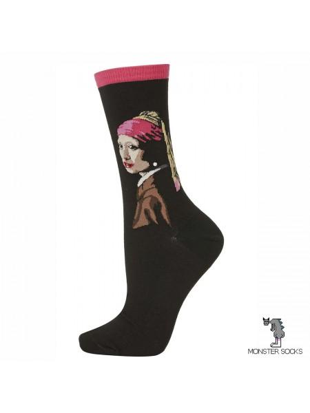 Шкарпетки Дівчина з перловою сережкою (Ян Вермеер)