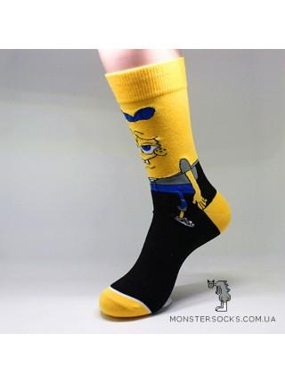 Носки Губка Боб квадратные штаны