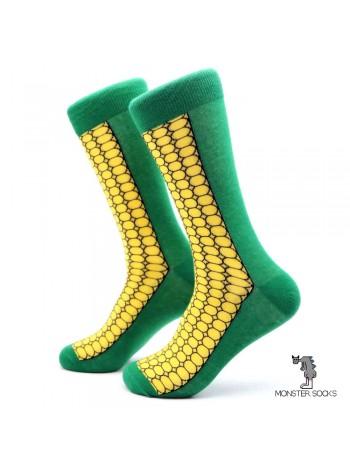 Носки с кукурузой