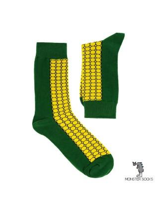 Шкарпетки з кукурудзою