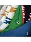 Шкарпетки з крокодилом