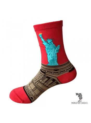 Носки со Статуей Свободы