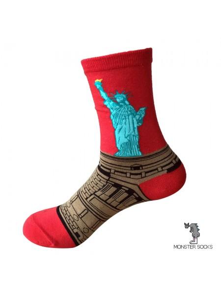 Шкарпетки з Статуєю Свободи