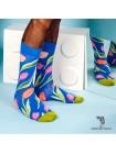 Шкарпетки з тюльпанами