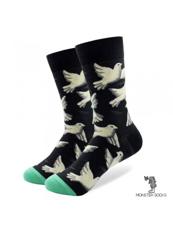 Шкарпетки з голубами