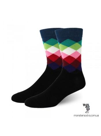 Шкарпетки в ромб