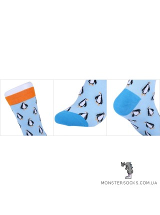 Шкарпетки з пінгвінами
