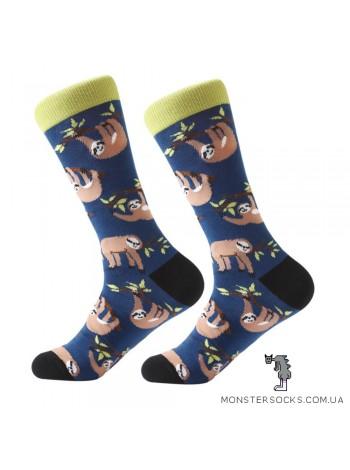 Шкарпетки з лінивцями
