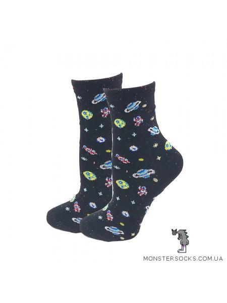 Шкарпетки з космосом і планетами