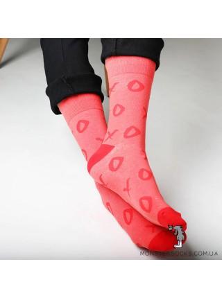 Шкарпетки хрестик і нулик