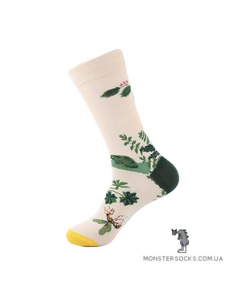 Шкарпетки з рослинами